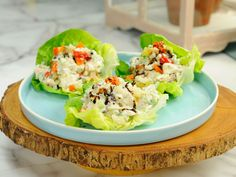 Chicken Salad : Ever suffer a kitchen mishap and end up with less-than-perfect chicken? Follow Jeff Mauro's lead and repurpose it in this easy chicken salad.