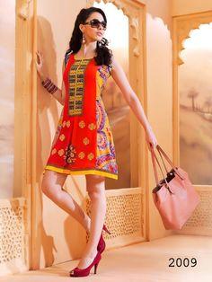 Short Designer Kurti | Exclusive Ladies Tunics