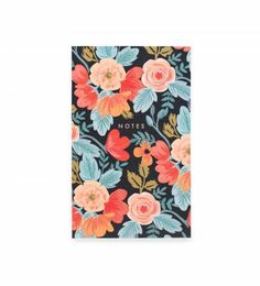 Rifle Paper Co. - Russian Rose - Small Notepad With Pocket