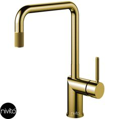 Nivito - Rhythm Industry Brushed Gold Brass, Kitchen tap with ripped handle and nozzle Simple Interior, Minimalist Interior, Best Interior Design, Minimalist Decor, Luxury Interior, Interior Styling, Interior Decorating, Cool House Designs, Modern House Design