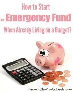 All the experts say you NEED an emergency fund. But how do you create one when you are already on a budget? Read here to find out how!