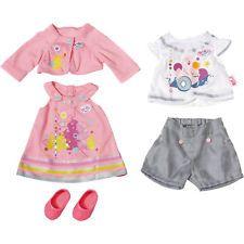 Neu Zapf Creation BABY born® Puppenkleidung Gift Set, 43 cm 5474619