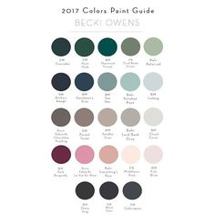 based on the @pantone colors of the year, @beckiowens is forecasting 2017's best #paintcolors. check em out over on her blog! #interiors #colorpalette #girlboss