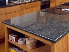 How To Install A Granite Tile Kitchen Countertop Slab