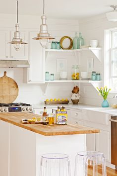 Fall Home Tour Pinterest Cottage Kitchens Kitchens