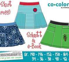 Ebook - T-skirt für Grosse Gr. 140-170 und 34-44