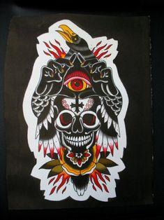 Traditional Tattoo Inspiration, Traditional Tattoo Design, Traditional Tattoo Flash, Tattoo Sketches, Tattoo Drawings, Body Art Tattoos, Sleeve Tattoos, Tattoo Ink, Leg Tattoos