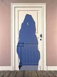 René Magritte (Belgian, L'acte de foie, Oil on canvas, x 97 cm. I love the underlying message conveyed in this painting! Rene Magritte, Art And Illustration, Conceptual Art, Surreal Art, Art Bizarre, Art Parisien, Frida Art, Pics Art, Van Gogh