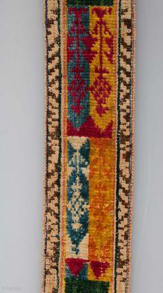 Central asian Velvet Belt 91 x 6.5 cm