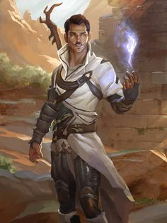 Ditch the facial hair (switch to a barely there well groomed beard, like a five o'clock shadow) and Hello Alek of the #BirthRightTrilogy  Dorian Pavus by AndrewRyanArt on DeviantArt