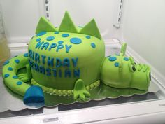 Dragon cake. No link, just a picture for ideas.