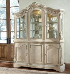 Dining Room China Hutch Aico Victoria Palace China Hutch & Buffet Glamorous Dining Room Buffet Hutch Design Ideas