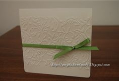 Handmade Ella Wedding Invitation