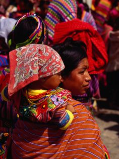 Zunil Guatemala-Why do we think we need fancy baby carriers?!