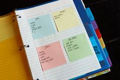 """Time management binder""   Some of the best time management tools are the ones you create for yourself."