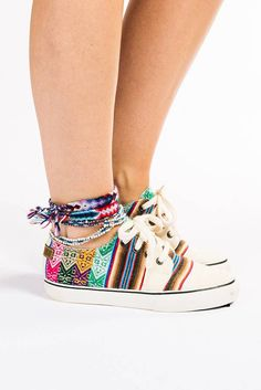 Peruvian Inca Sneaker - MIPACHA® Inca Shoes