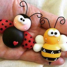 Bienchen und Marienkäfer
