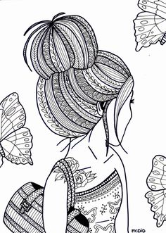 Girl Coloring Sheets free printable coloring pages for teens italien forum info Girl Coloring Sheets. Here is Girl Coloring Sheets for you. Girl Coloring Sheets free printable coloring pages for teens italien forum info. Doodle Art Designs, Art Drawings Simple, Mandala Coloring, Art Drawings, Zentangle Drawings, Doodle Art Journals, Doodle Drawings, Coloring Pages For Teenagers
