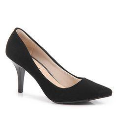 Sapato Scarpin Feminino Pensatto - Preto