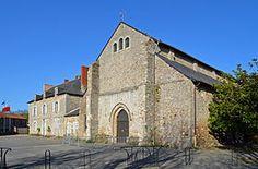 Abbatiale Saint-Philibert de Grand Lieu ( Nantes - région pays de la Loire) - fondée au IXème siècle - style dominant carolingien
