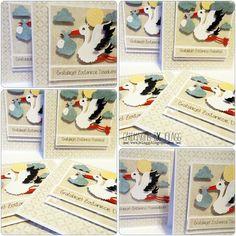 Cardmaking by jolagg: Kartki z bocianami