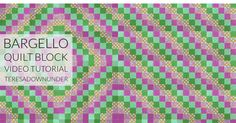 Video tutorial: Quick and easy bargello quilt block – Sewn Up Bargello Quilt Patterns, Bargello Quilts, Quilting Patterns, Quilting Ideas, Quilting Templates, Quilting Projects, Sewing Projects, Quilt Tutorials, Sewing Tutorials