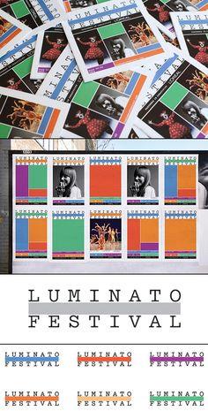 Toronto's Luminato Festival Identity