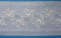 "47-22963, Swiss Cotton Insertion, 3"" Wide, White"
