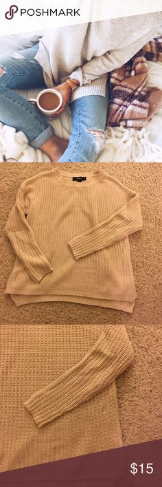 HP Wardrobe Goals ✨Oatmeal Sweater So comfortable! Offer and bundle 💕fits S-M Forever 21 Sweaters Crew & Scoop Necks
