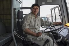 Bus driver Syed Hasnain, who takes #laborers from their accommodation to work sites, tells of the dangers of reckless driving, not getting enough sleep and the use of phones while #driving.  #UAE #TrafficAccidents #RoadAccidents ##BusDriver