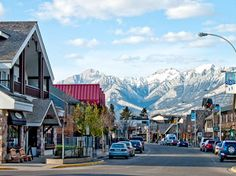 Jasper, Alberta - gorgeous quaint little town with again, an amazing backdrop.