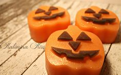 NEW Fall Soap Gift Set Scented in Pumpkin Apple by KaliminaKiss