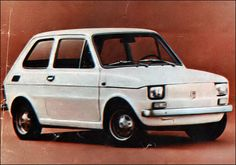 Polski Fiat 126p 1972r.