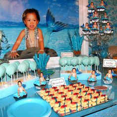 GreyGrey Designs: {Real Parties} Little Mermaid Party