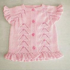 Knitting Baby Vests All Beautiful From Each Other 20 Pieces - Crochet Baby Girl Vest, Baby Dress, Baby Baby, Girls Sweaters, Baby Sweaters, Crochet For Kids, Crochet Baby, Knitted Baby, Crochet Ideas