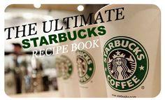 FREE Starbucks Recipe Book!