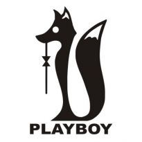 Playboy Zorro Logo. Get this logo in Vector format from https://logovectors.net/playboy-zorro/