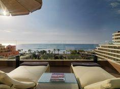 Terraza Privilege con vistas al mar  #h10conquistador #conquistador #h10hotels #h10 #hotel10