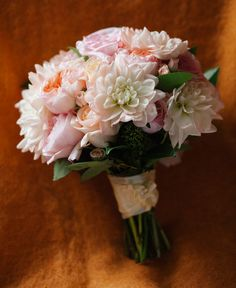 Pale pink wedding flowers ... For a Wedding Bouquet Guide ... https://itunes.apple.com/us/app/the-gold-wedding-planner/id498112599?ls=1=8  ... The Gold Wedding Planner iPhone App.