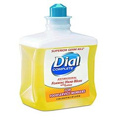 Dial Complete 00034 Antimicrobial Foaming Hand Soap, 1 Liter Refill (Case of 4) Review