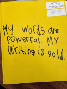 Get Excited About Writing! / writing folders / Lucy Calkins / writing workshop suggestions