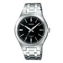 a95269477f9e Reloj Casio unisex El reloj es de acero hipoalergénico. La esfera del reloj  es negra y el diámetro del reloj es de 39 mm. El reloj es sumergible a 5  ATM y ...