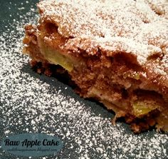 Raw Apple Cake - Cook This Again, Mom!