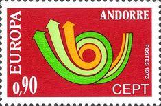 Andorra (French) - Europa / CEPT 1973