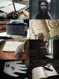 "Witch Aesthetics // Writer Witch ""Requested "" Chaos Witch 