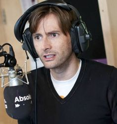 David Tennant at Absolute Radio