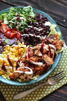 BBQ Chicken Chopped Salad @Alaska from Scratch