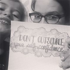 """""""Don't outsource your self-confidence."""" I  these words...When we depend on outside sources for our confidence it can easily waver. But when we we choose to source it from within we can be sure that it will always be there when we need it. #confidence #encouragement #photooftheday #followme #teatimethoughtswithalicia"""