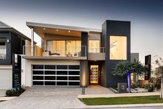 exterior port coogee residence Modern Home Incorporating Cutting Edge Technology: Port Coogee Residence