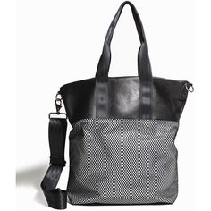 NOCTURNAL WORKSHOP Market Tote (8,380 INR) ❤ liked on Polyvore featuring bags, handbags, tote bags, nylon tote, nylon tote bags, nylon tote handbag, zip tote bag and nylon handbags totes